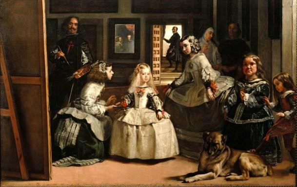 Las meninas, Velázquez, Museo del Prado